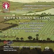 Ralph Vaughan Williams: Richard II - Incidental Music/Songs of Travel/Suite  de Ballet/Fantasia on Sussex Folk Tunes [SACD Hybrid Multi-channel]